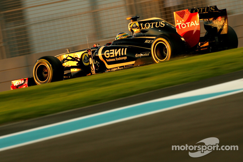 Lotus Renault Abu Dhabi GP qualifying report