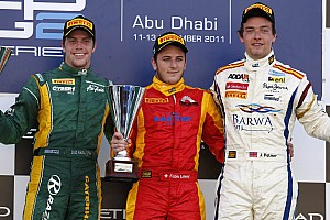 Series Abu Dhabi race 1 report