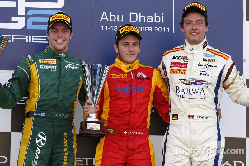 Series Abu Dhabi race 1 report
