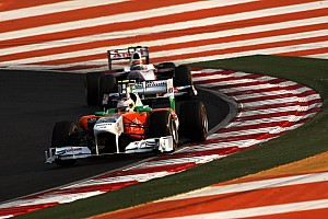 Force India Abu Dhabi GP race report