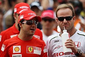 Formula 1 Massa urges Barrichello to announce retirement