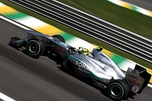 Mercedes Brazilian GP Friday practice report