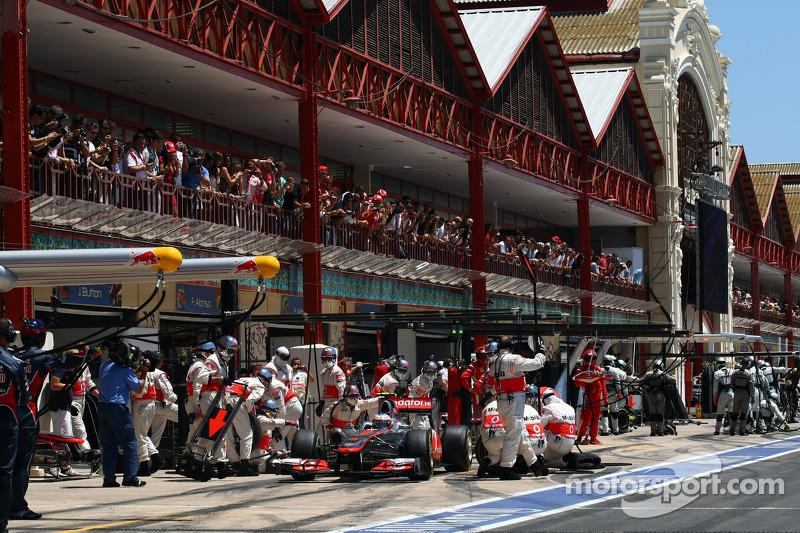 Valencia government takes over European GP