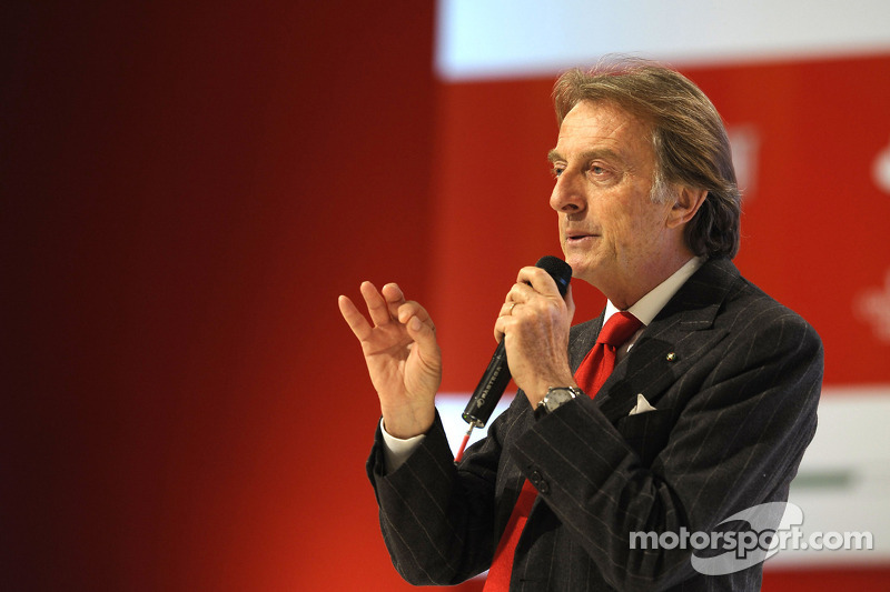 Montezemolo celebrates 20 years of Ferrari presidency