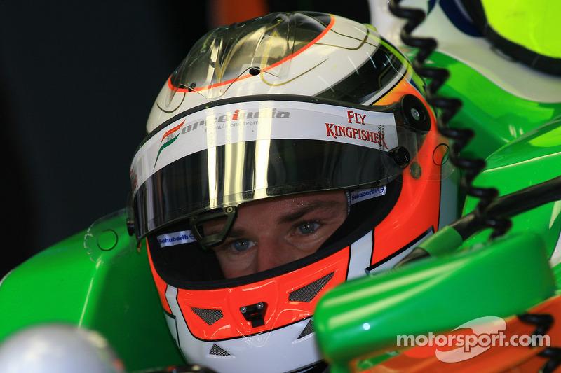 Force India's Nico Hulkenberg