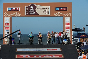 Argentina-Chile-Peru race ready to start