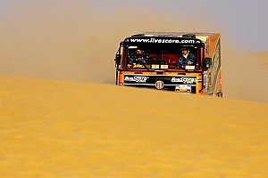 Cross-Country Rally Schlesser and Tomecek pull away in hectic sixth stage of Africa Eco Race