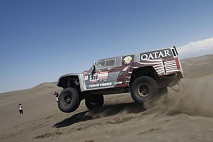 Dakar Al-Attiyah leads Hummer team 1-2 finish in stage seven in Chile