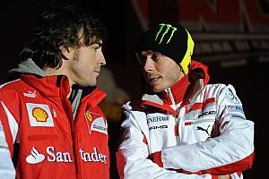 Formula 1 Ferrari: Alonso a team player