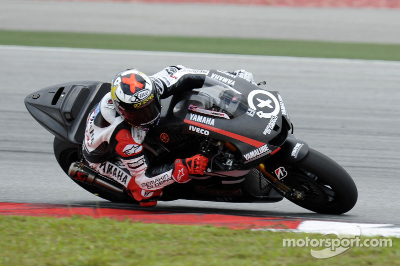 Series Sepang test day 1 report