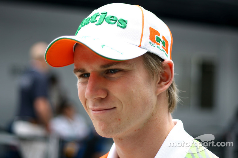 Sutil deserves to stay in F1 - Hulkenberg