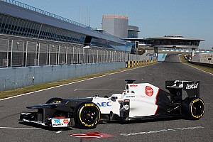 Sauber unveils Key-less C31 at Jerez