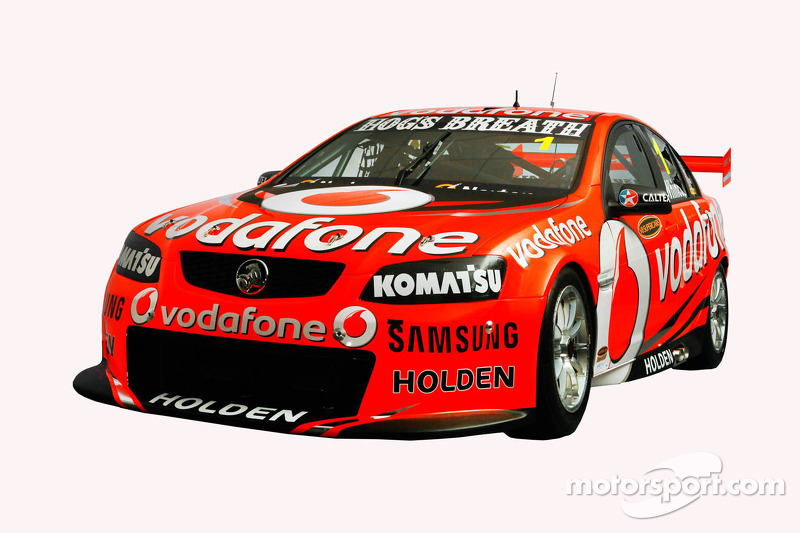 TeamVodafone unveil 2012 winning formula