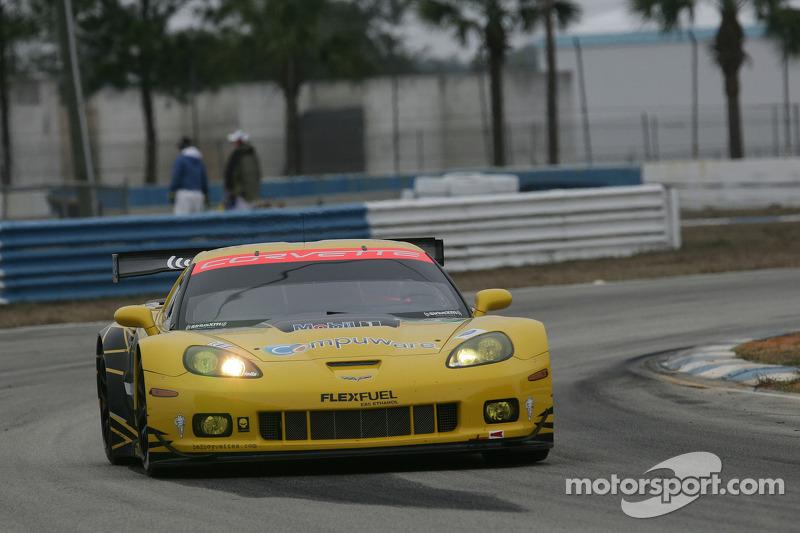Corvette Racing winter test summary