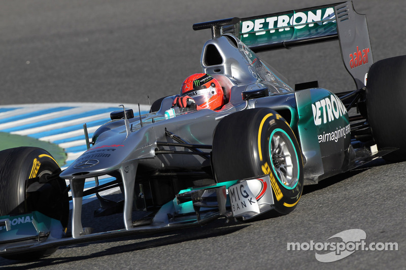 Mercedes Jerez test day 2 report