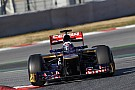 Toro Rosso Barcelona testing -  Day 1 report