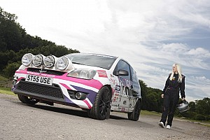 WRC PWRC Driver Louise Cook enrolled for Colin McRae Vision Junior Programme 2012