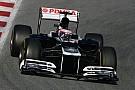 Williams Barcelona testing -  Day 2 report