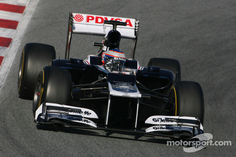 Williams Barcelona testing -  Day 2 report
