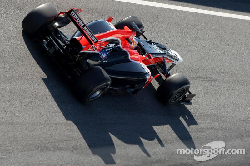 Marussia Barcelona testing -  Day 4 report