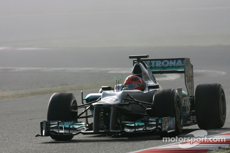 Mercedes Barcelona test II -  Day 2 report