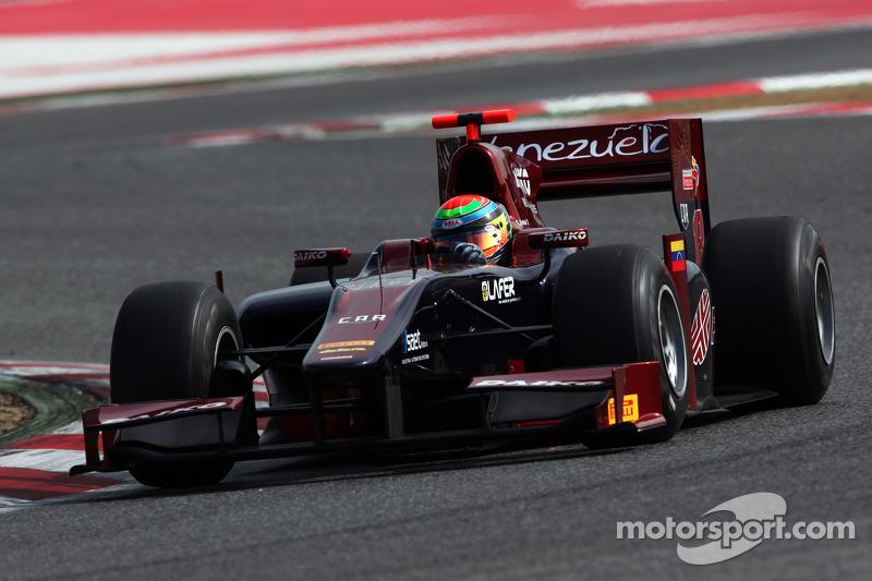 Fabrizio Crestani sets the pace in Barcelona