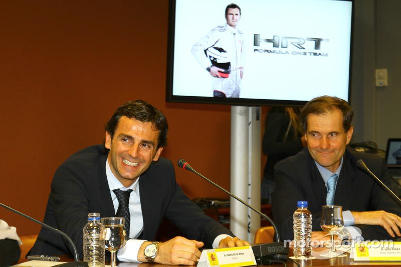 'Obvious' HRT needs more backing - de la Rosa