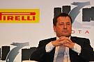 Pirelli wanted 2011-spec test car