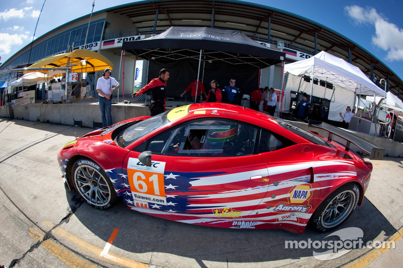 RK Motors/AF Waltrip Racing prepared for Sebring challenge
