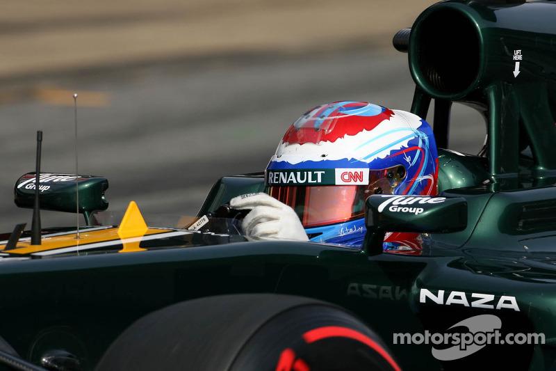 Caterham Australian GP - Melbourne qualifying report