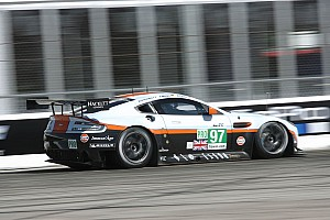 Aston Martin Racing hour 4 report