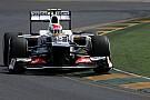 Sauber Australian GP - Melbourne race report
