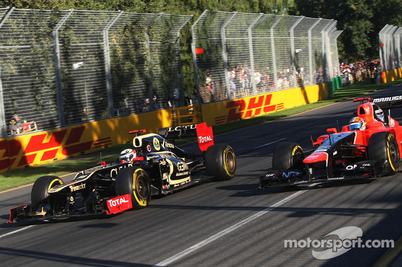 Lotus Australian GP - Melbourne race report