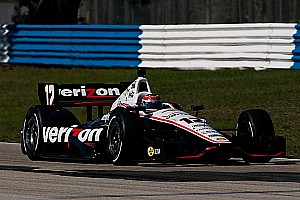 Power and Penske lead the way in practice at Barber