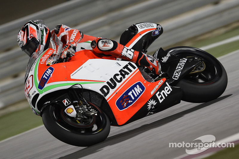 Ducati Qatar GP Friday report