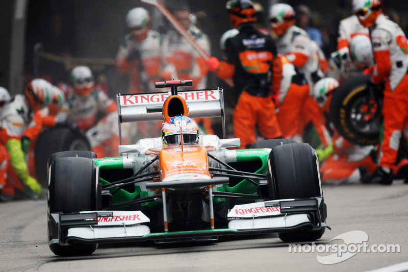 Force India Chinese GP - Shanghai race report