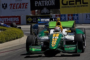 IndyCar Lotus HVM Racing Long Beach race report