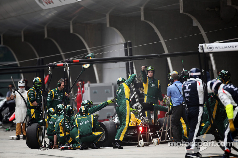 Caterham Chinese GP - Shanghai race report