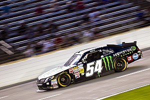 Kurt Busch prepared for his 1st Nationwide start at Darlington