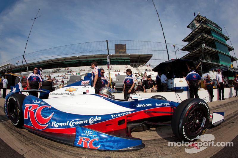 Marco Andretti claims fastest lap on practice day 4 at Indy