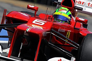 Ferrari say Massa contender for 2013 race seat