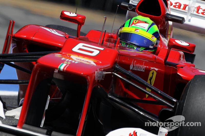 Ferrari say Massa contender for 2013 race seat