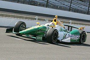 IndyCar Lotus HVM Racing qualifies for 2012 Indianapolis 500