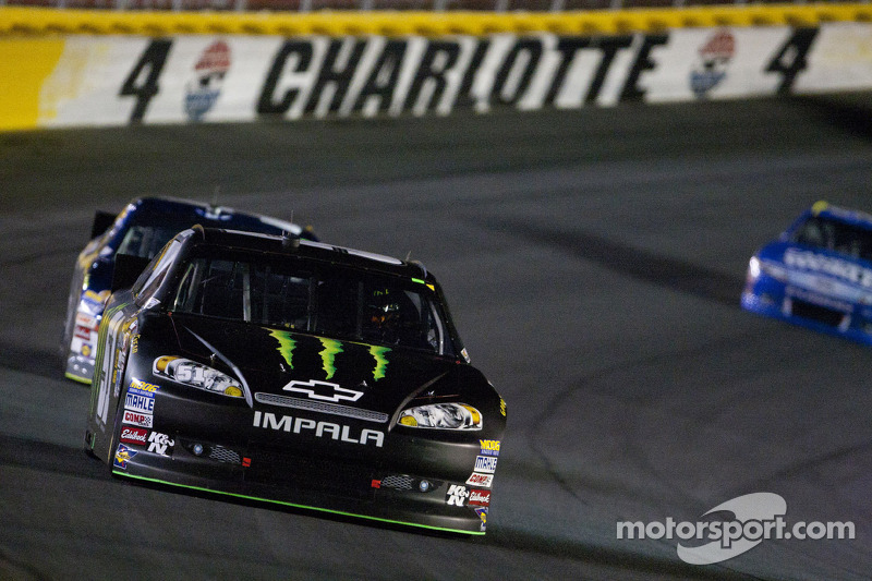 Kurt Busch ready for the marathon at Charlotte