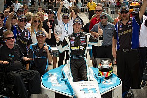 Indy Lights Guerrieri comes from last to capture Freedom 100 thriller at Indy