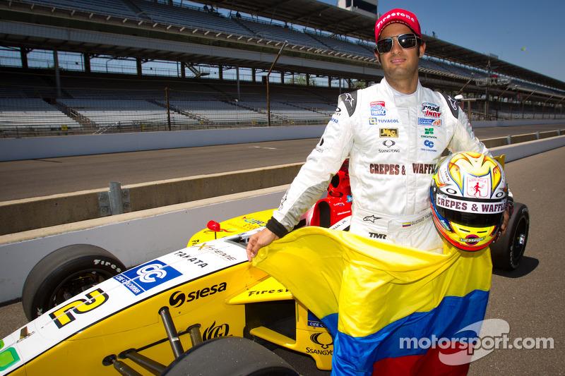 Series Indianapolis qualifying report