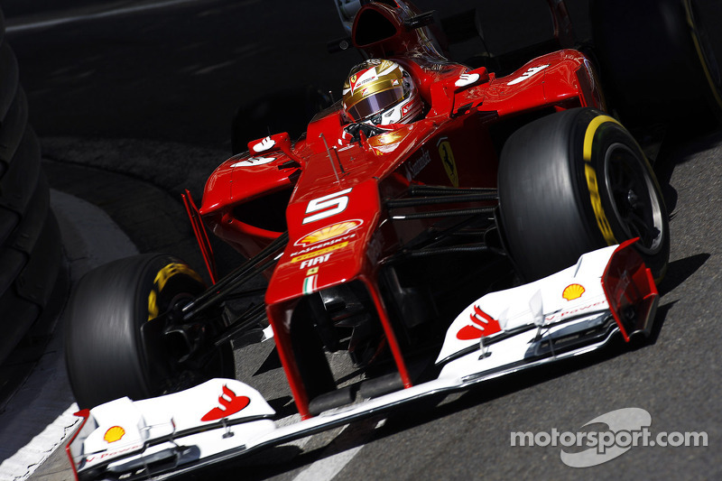 Ferrari puts in strong showing in Monaco qualifying
