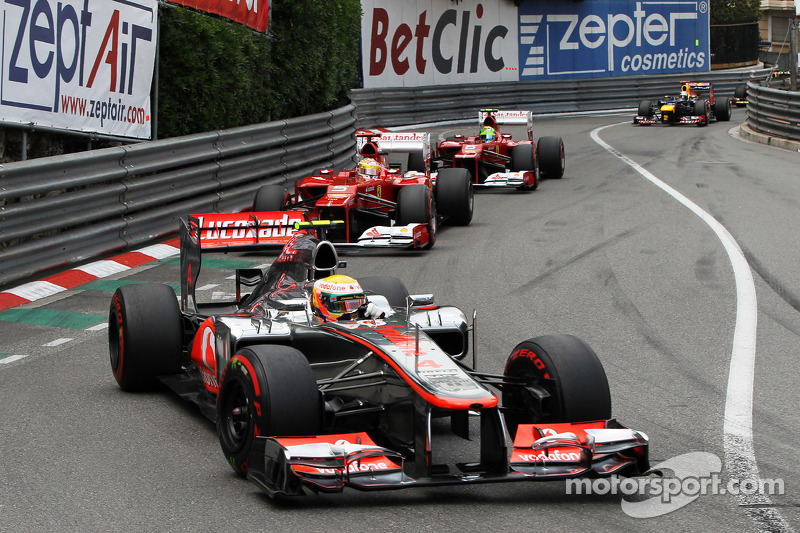 Hamilton's Monaco tire management