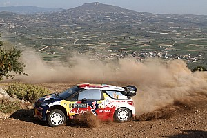 WRC Citroen Junior driver Neuville earns points in Acropolis Rally