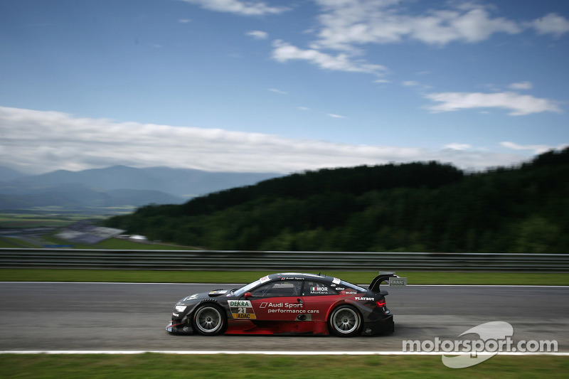 Toward pole with wings: Audi shines at Red Bull Ring